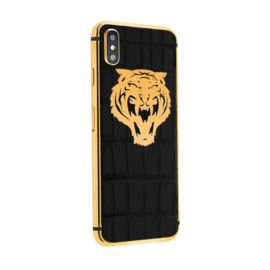 Iphone X in the exclusive «Tiger» case