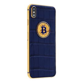 Iphone X in the exclusive «Luminary Dark Blue» case