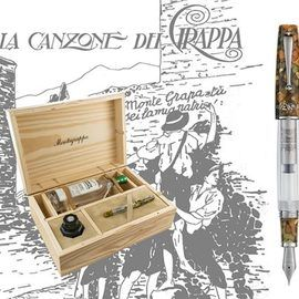 Перьевая ручка «La Canzone Del Grappa. Memorial Black» от Montegrappa